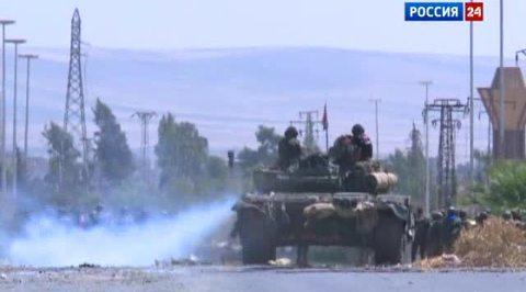 Эль-Кусейр молится на сирийскую армию