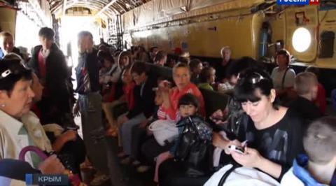 Мирный Крым готов приютить беженцев