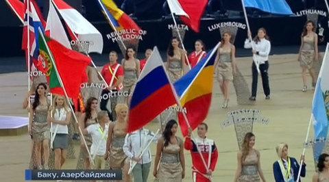 Российская сборная завоевала на Евроиграх 164 медали