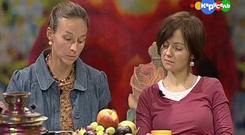 Чаепитие. С Марией Людковской и Александрой Пульвановой