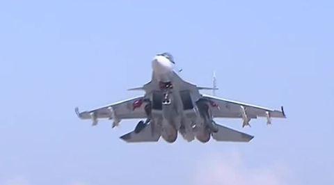 Российские бомбардировщики и штурмовики работают в Сирии беспрерывно
