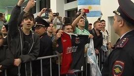 В России встречают мировые футбольные сборные
