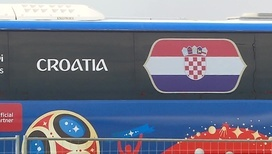 Футболисты сборной Хорватии прилетели в Санкт-Петербург