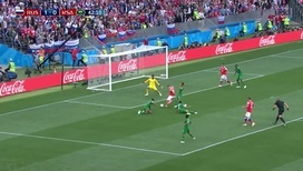 Россия – Саудовская Аравия: 2:0 после гола Черышева