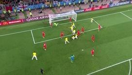 Йерри Мина сравнивает счет в самом конце матча