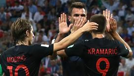 Хорваты сыграют с французами в финале чемпионата мира