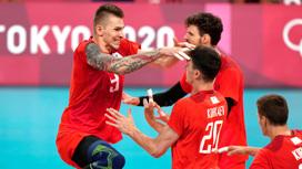 Историческая битва: российские волейболисты победили бразильцев и вышли в финал