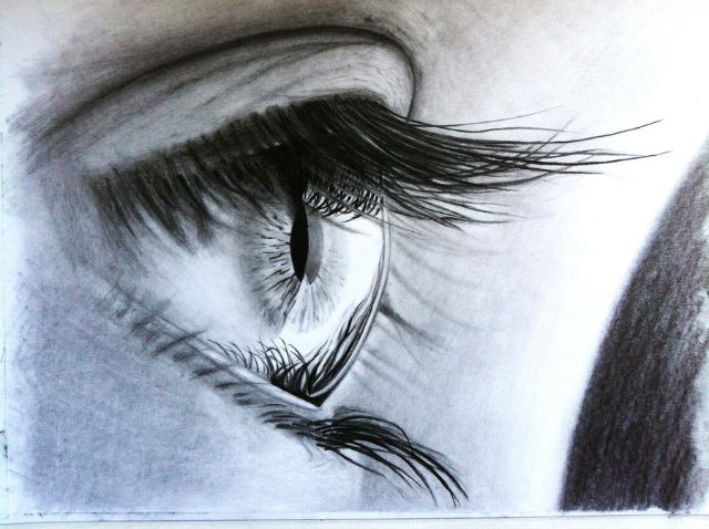 Человеческий глаз бегает из стороны в сторону трижды за секунду, но ему достаточно смотреть на снимок 13 миллисекунд, чтобы собрать для мозга достаточно информации