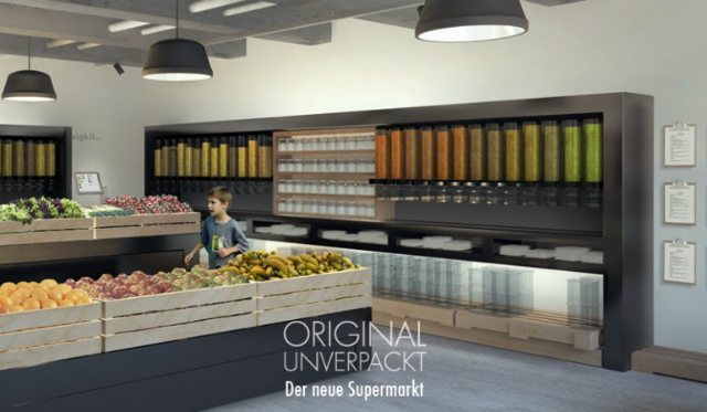 Original Unverpackt - первый безотходный супермаркет, который откроется этим летом в Берлине