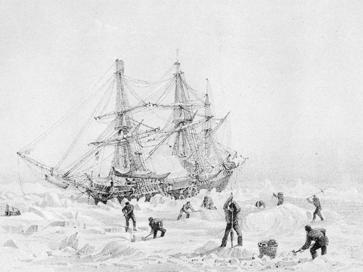 """Корабль""""Террор"""" был потерян во время экспедиции в Арктику"""