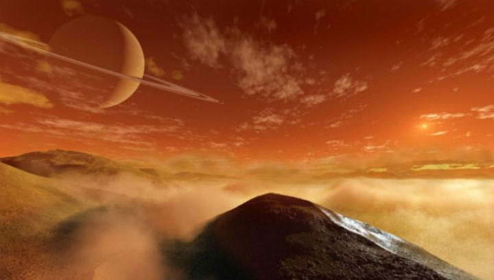 Песчаные дюны на Титане в представлении художника
