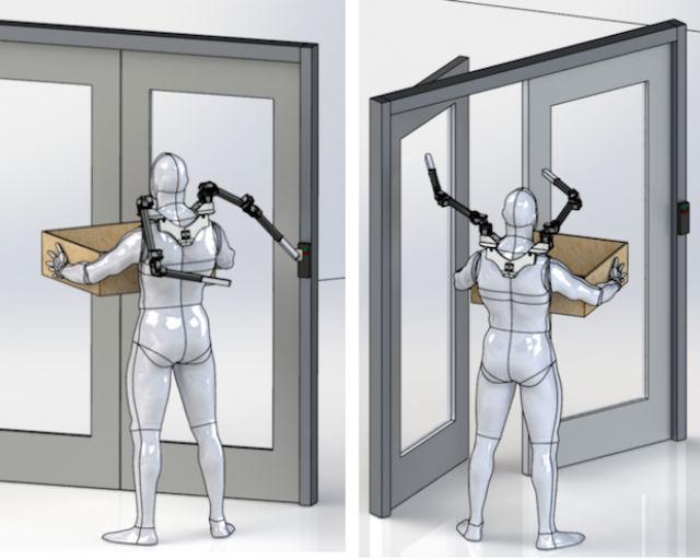 Роборуки SRLs откроют вам дверь, если вы держите что-то обеими руками