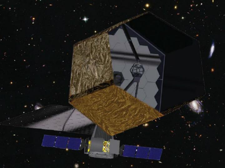 Один из вариантов дизайна телескопа ATLAST