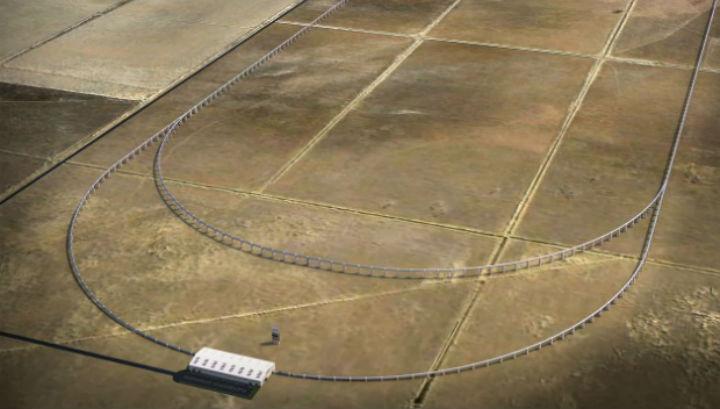 Благодаря Hyperloop, авторы проекта Quay Valley планируют избавить жителей города от автомобильной зависимости
