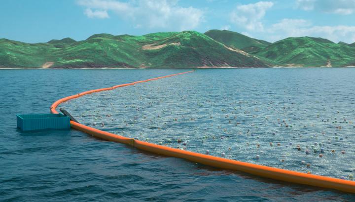 Ocean Cleanup не будет мешать морской жизни, так как преимущественно будет находиться на поверхности воды