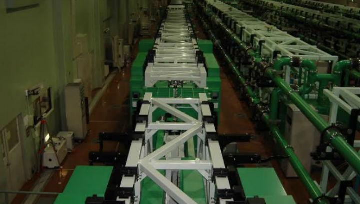 Длина рекордной установки составляет около 100 метров