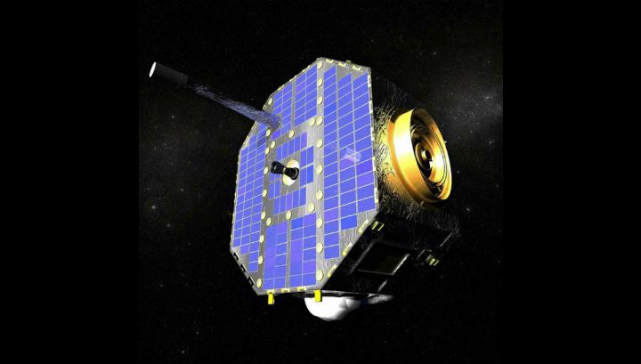 Спутник IBEX в представлении художника