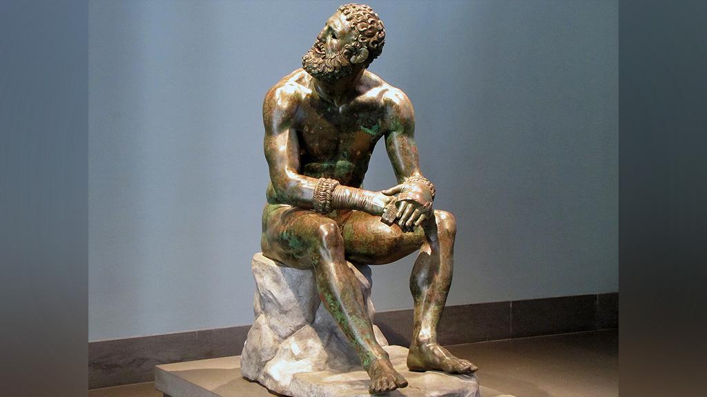 ╚Кулачный боец╩, бронзовая статуя I века до н.э., экспонируется в Palazzo Massimo alle Terme, Рим. Фото:═profzucker / Flickr