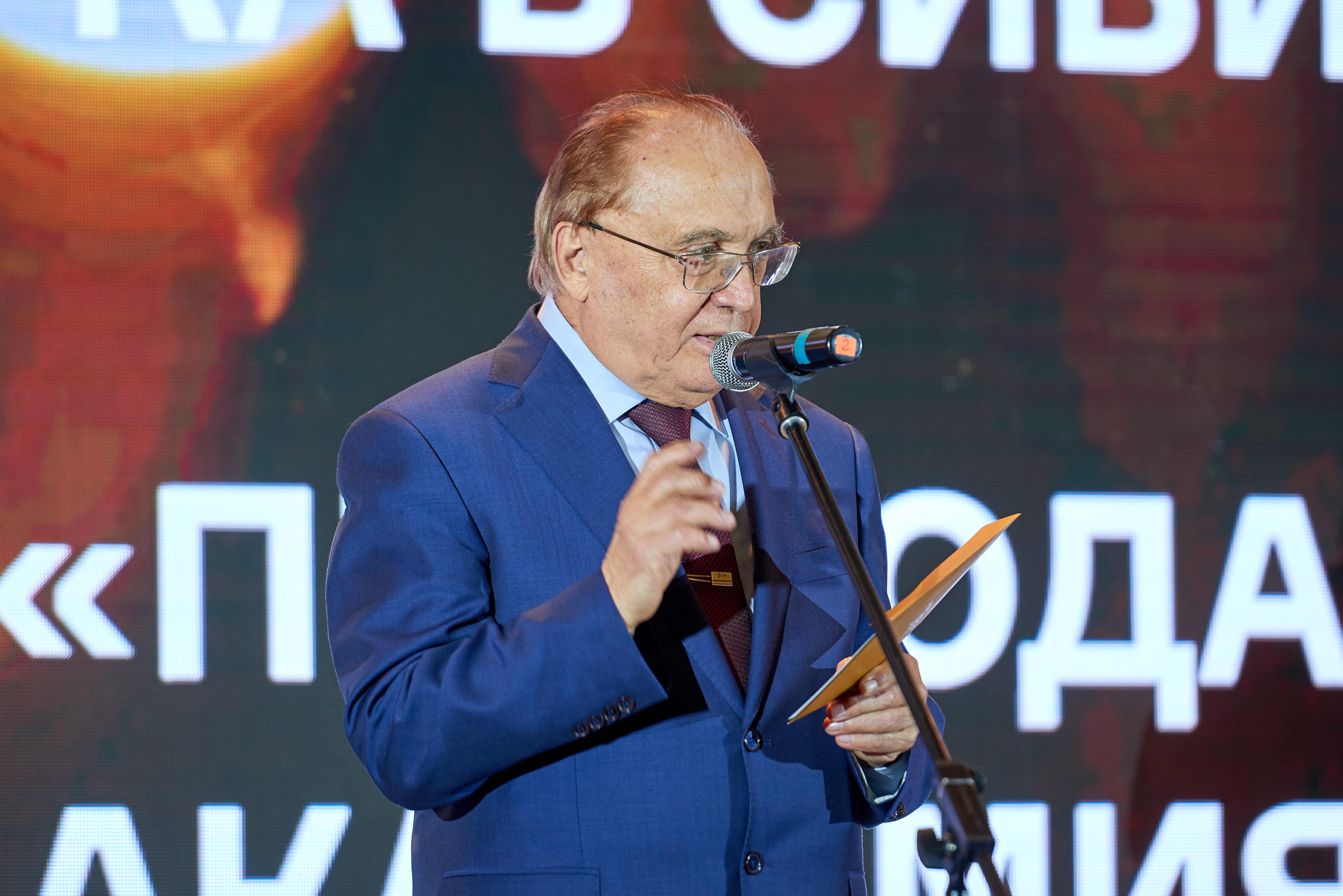 Ректор МГУ академик Виктор Садовничий.