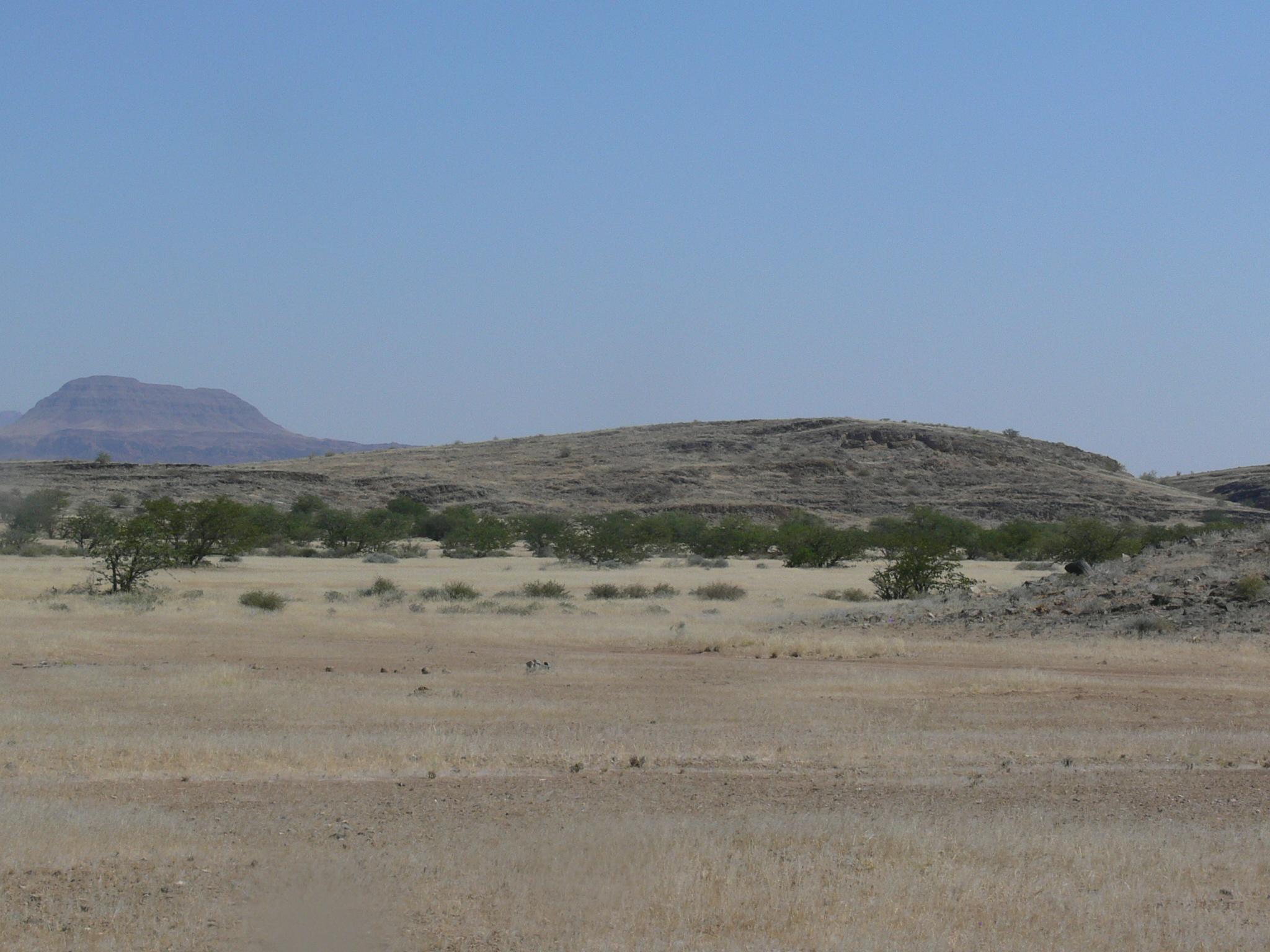 Друмлины обычно встречаются в Северной Америке и северной части Европы, поэтому обычно не ассоциируются с пустынями.