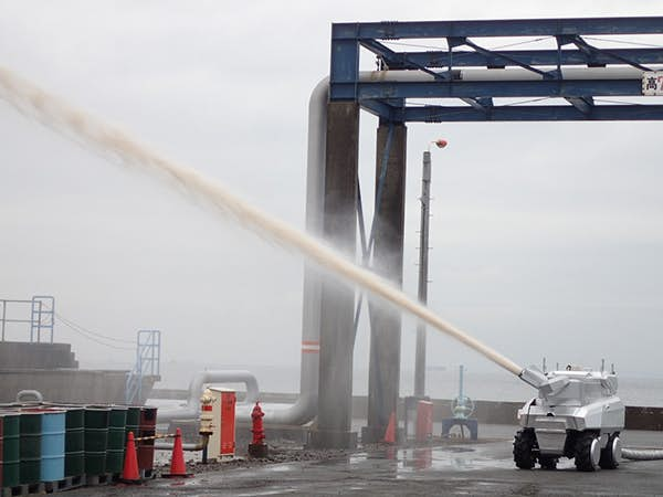 Аппараты помогут справляться с возгораниями в энергетической и промышленной сферах.