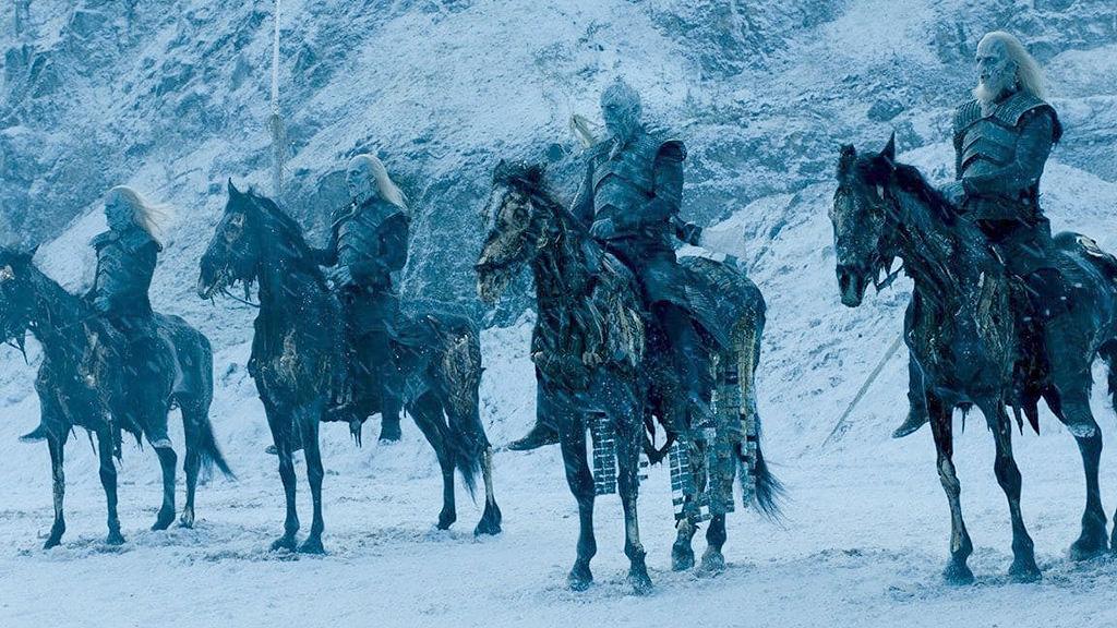 "Белые Ходоки. Кадр из сериала ""Игра престолов"", HBO"