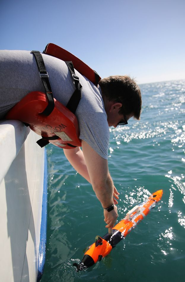 Роботам предстояло картографировать морское дно на глубине до четырёх километров.