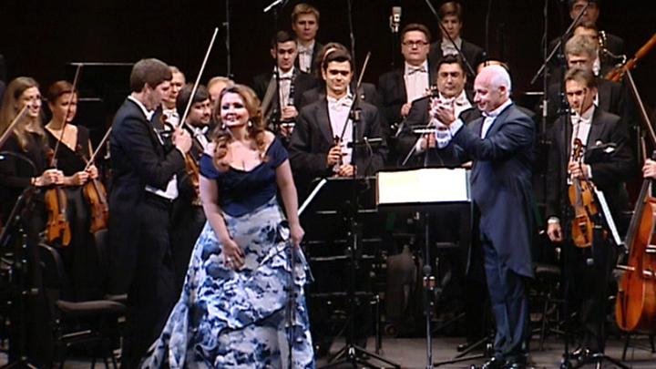 Владимир Спиваков выступил с оркестром Большого театра и Альбиной Шагимуратовой