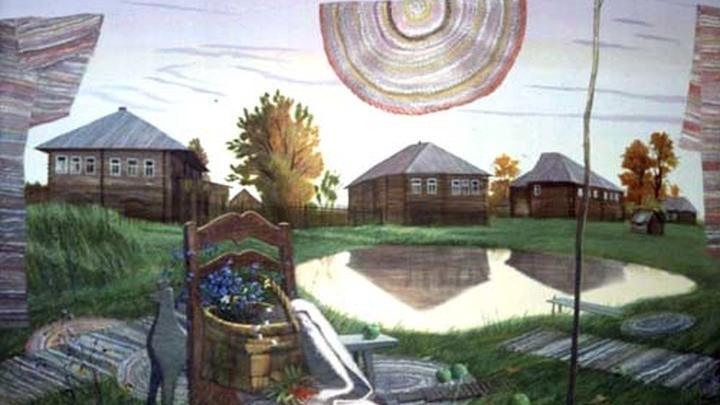 «Деревня поэта» Юрий Вороно