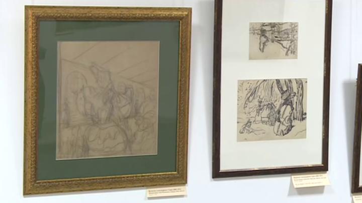 Выставка работ Валентина Серова открылась в Твери