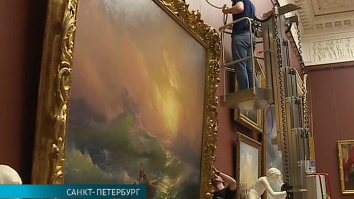 Картины Айвазовского из коллекции Русского музея готовятся к отправке в Москву