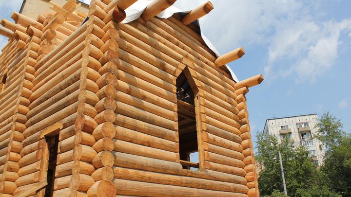 Такой будет на стыке старинных масловских дорог церковь святого и художника Андрея Рублева
