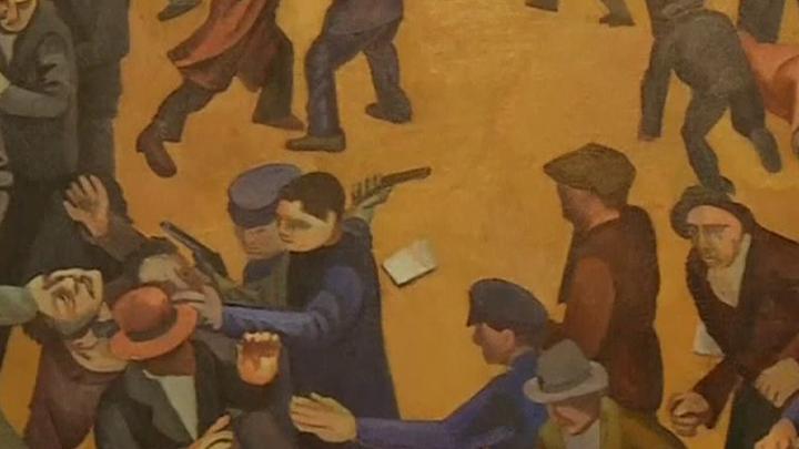 Выставка редких работ Диего Риверы открылась в Мехико