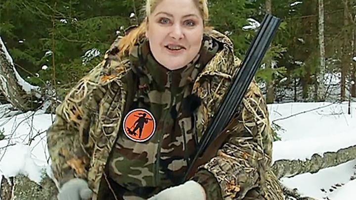 Охотовед, кандидат наук, заядлый охотник Елена Горбунова.