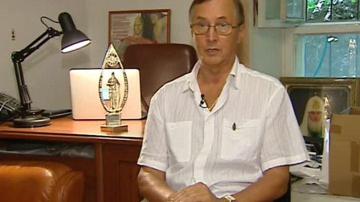 Народный артист России Николай Бурляев принимает поздравления с 70-летием