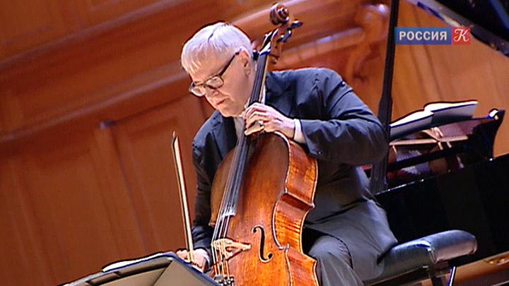 Давид Герингас дал в Москве юбилейный сольный концерт в рамках фестиваля Vivacello