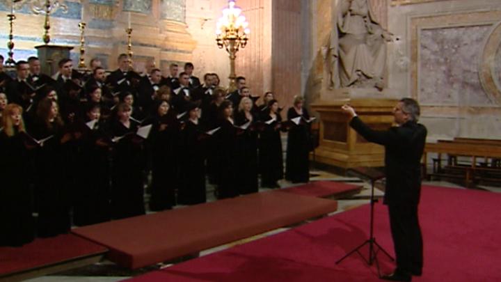 Московский Синодальный хор приехал в Бари, чтобы принять участие в праздничной литургии