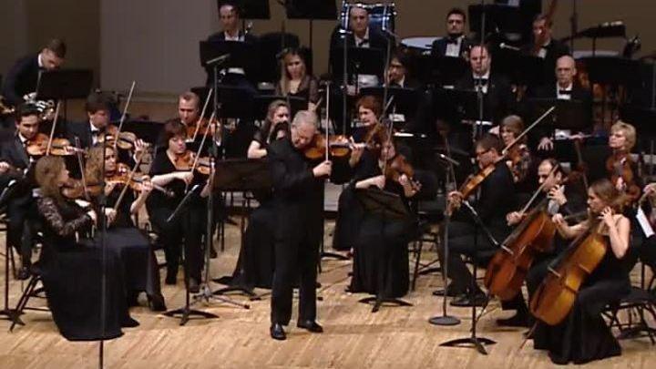 Шломо Минц дирижировал оркестром Musica Viva в Зале имени Чайковского