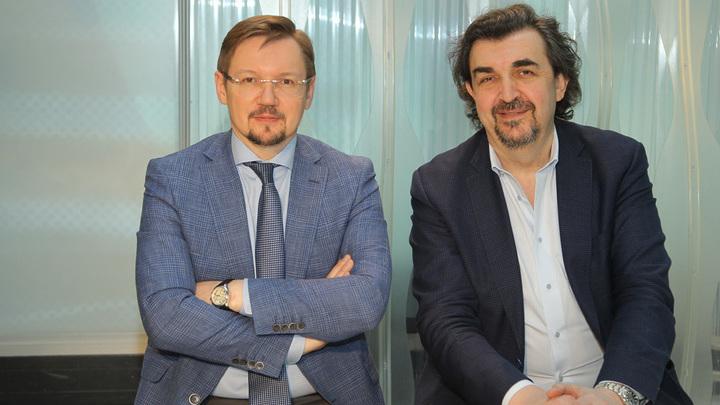 Александр Журавский и Игорь Золотовицкий