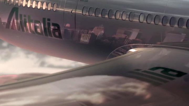 Обанкротившаяся авиакомпания Alitalia выполнила последний рейс в Рим