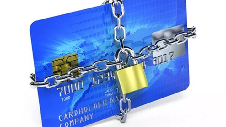 Заблокированная банковская карта.
