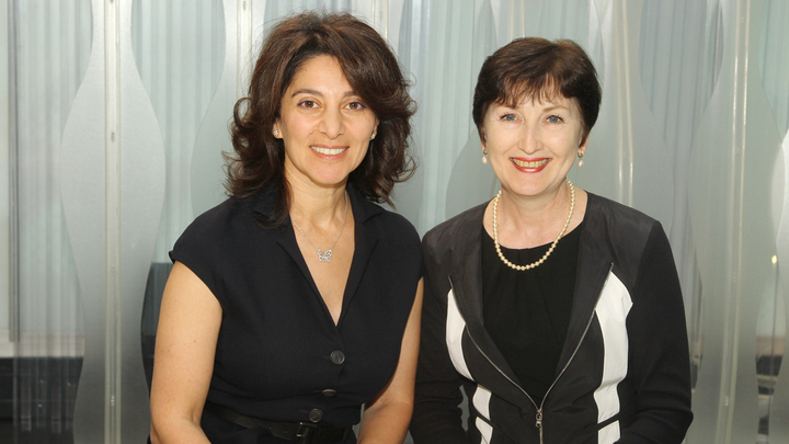 Ивета Манашерова и Марина Эльзессер