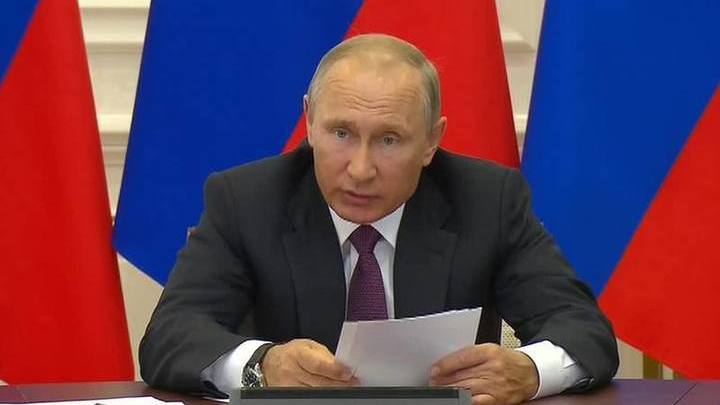 Владимир Путин направил приветствие участникам Ассамблеи Русского мира