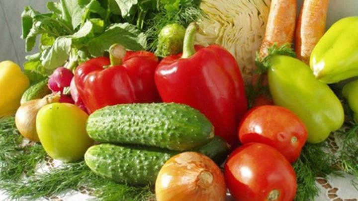 Овощная продукция.