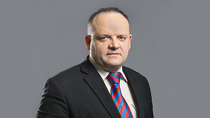 """Ведущий аналитик УК """"Горизонт"""" Владимир Юрьевич Рожанковский."""