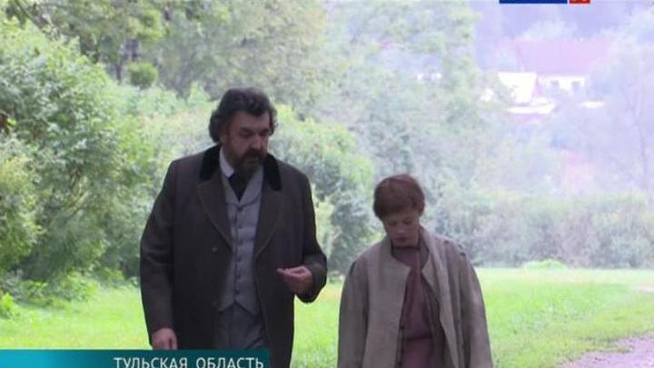 """В """"Ясной Поляне"""" снимают фильм о малоизвестных эпизодах из жизни Льва Толстого"""