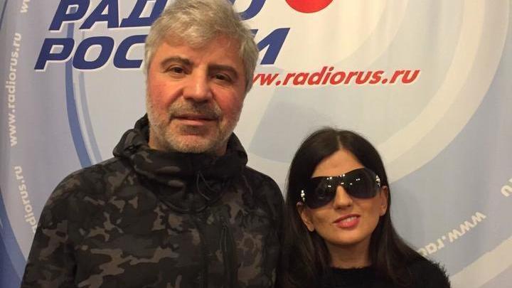 Певец Сосо Павлиашвили и Диана Гурцкая.