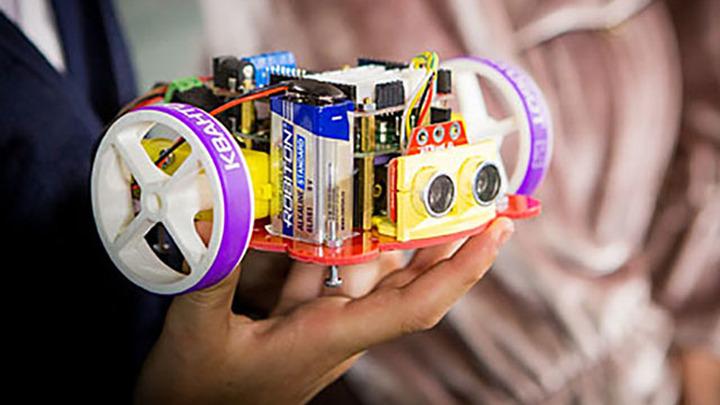 """Уроки технологии в детском технопарке """"Кванториум"""" в Москве."""