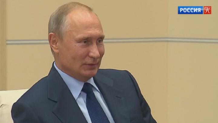 Владимир Путин встретился с избранным президентом РАН Александром Сергеевым