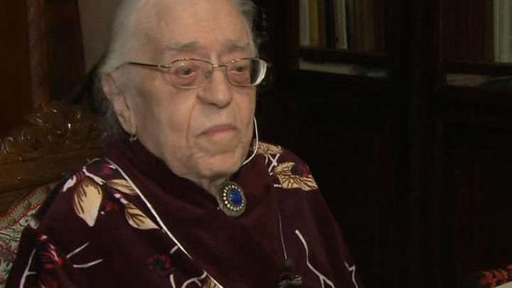 Поздравления с 95-летием принимает Аза Тахо-Годи